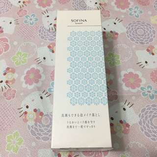 Sofina beaute cleanser & makeup remover 洗面卸妝2合1