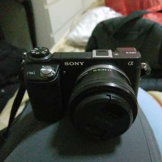 SONY Alpha series NEX 6 APS-C sensor