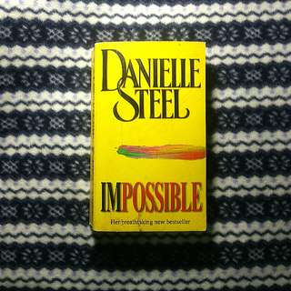 Book/Novel:Imposible by Danielle Steel