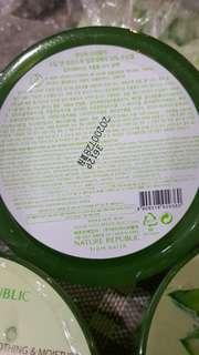 Nature republic (aloe vera soothing gel)