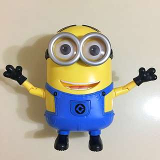 Minions Action figure 跳舞公仔 9成新