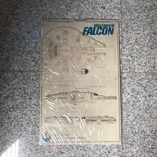 Star Wars millennium falcon specs metal signage rouge one tlj esb rotj