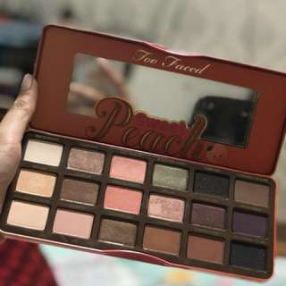 Authentice too faced sweet peach