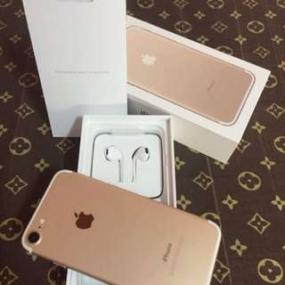 Iphone 7 Gold 32g (FU) bought in the US