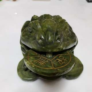Good Luck/Fortune Stone Toad