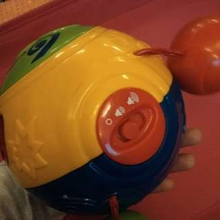 Fisher price crawling ball
