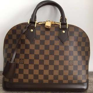 Price drop** Louis Vuitton Alma PM Damier Ebene
