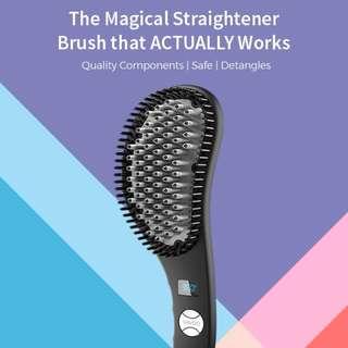 [New/Indiegogo] VAVOO - The Best Hair Straightener Brush