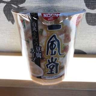 日本版一風堂即冲豬骨豆腐湯