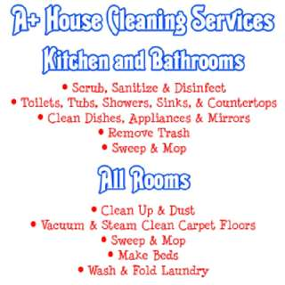 no time cleaning your place, your house?I'm here to help and make your stay comfortable