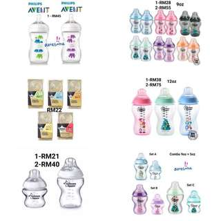 Tomme Tippe&Avent Bottle