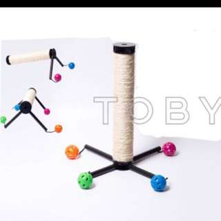 (NEW!)$16 Cat Scratch Toy Post