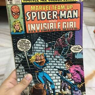 Marvel Team-up (spider-man &invisible woman) 1979 issued