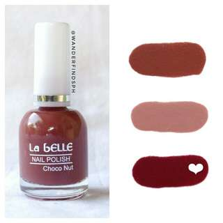 NEW! La Belle Nail Polish in Choco Nut (Warm Nude Shades)