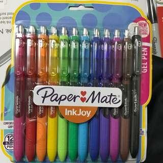 Paper Mate Colour Gel Pens