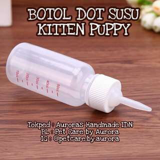 Botol dot susu anjing kucing kitten puppy