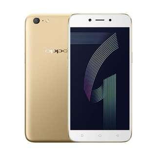 OPPO A71 Smartphone - Gold [16 GB/3 GB] Cash/ Kredit tenor 6bln