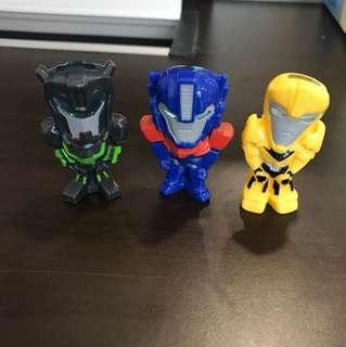 🆕Transformer Display Toy x 3 sets