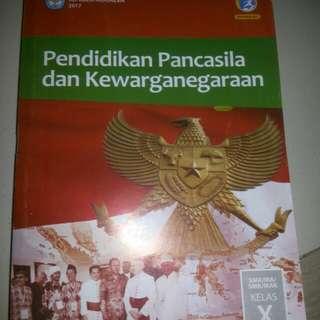 Buku PPKN kelas 10