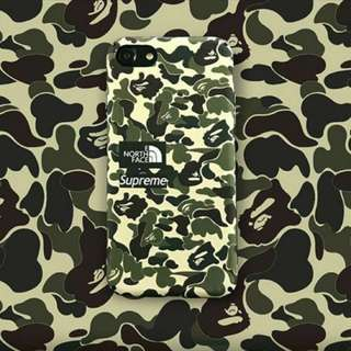 Samsung S7/S7edge/S8/S8+/Note8 Supreme x Bape Phone Case