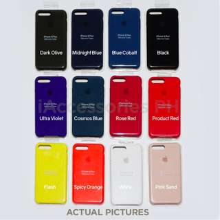 iPhone 8 Plus Official Silicone Cases