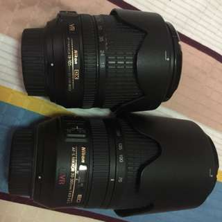 For Trade: Nikkor 18-105mm and 70-300mm to Nikkor 18-300mm