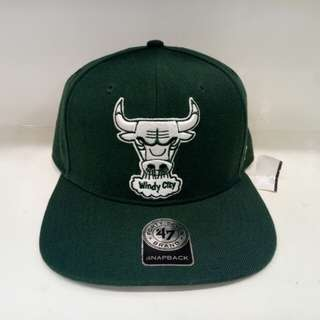 Authentic Chicago Bulls St.Patricks Day Limited Snapback