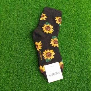 """Auth korean socks """"sunflower"""""""