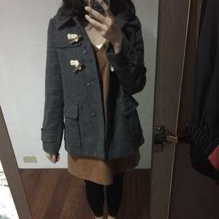 日本帶回 灰色外套