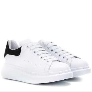 Alexander Mcqueen classic white sneakers