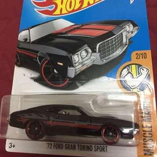 Hotwheels Ford Grand Torino Sport