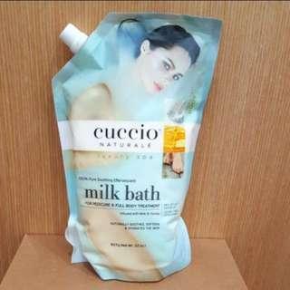 🚚 CUCCIO 牛奶浸泡浴粉