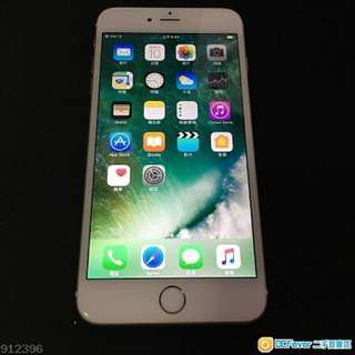 95% New iPhone 6 Plus 64gb Gold  zp hk version iOS 10.3.3