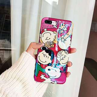 Peanuts Snoopy & Co Phone Case For iPhone 6/7/8/X