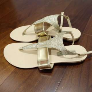 Charles & Keith flat sandals