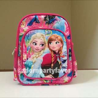 11 Inch Kindergarten Bag Frozen