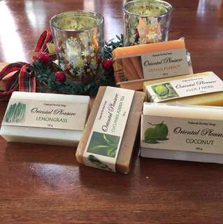 100% Natural Ingredients Body Soap @ $5 per piece
