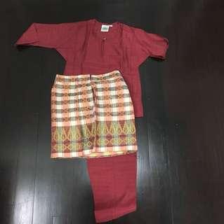 Traditional malay costume