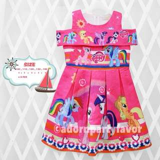 My Little Pony Off- Shoulder Dress