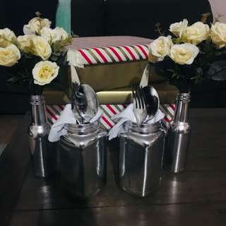 7 piece table setting