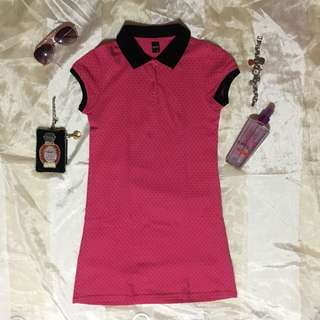 Splash Polo Dress