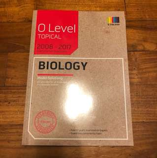 Biology O Level TYS (latest)