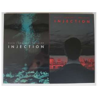 Injection volumes 1 & 2 (graphic novel, ongoing series)