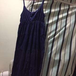 低價出清 棉質長洋裝
