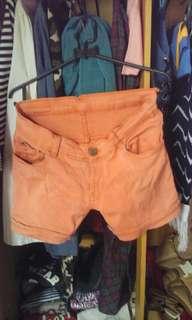 Hotpants orange