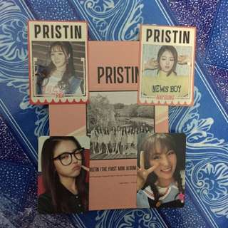 Hi! Pristin B ver. (Unsealed+4 pc+Poster intube)