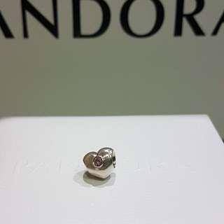 Pandora sparkling heart charms