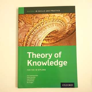 Oxford IB Diploma Skills and Practice, Theory Of Knowledge (TOK)