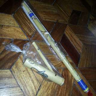 Flute & Bird Whistle SET