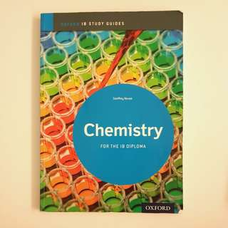 Oxford ib study guide chemistry for the ib diploma